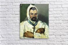 Portrait of Uncle Dominique as a monk by Cezanne  Acrylic Print