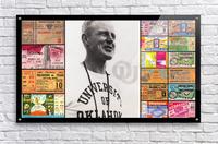 Oklahoma Football Bud Wilkinson Ticket Collage  Acrylic Print