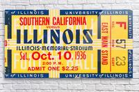 1936 USC vs. Illinois  Acrylic Print