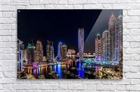 Happy New Year Dubai  Acrylic Print