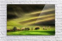 Moravian Fields  Acrylic Print