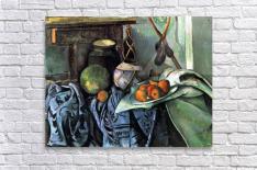 Still life with Eggplant by Cezanne  Acrylic Print