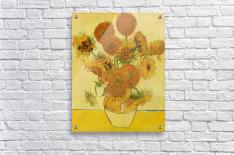 Still life with sunflowers by Van Gogh  Acrylic Print