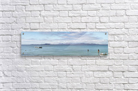 Panorama of Pontoon and Fuerteventura  Acrylic Print