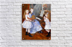 The daughters of Catulle Mendes  Acrylic Print