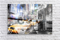 New York City Geometric Mix No. 9  Acrylic Print