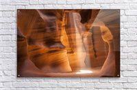 ANTELOPE CANYON Gorgeous Light Beam  Acrylic Print