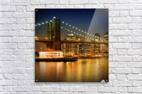 Night-Skylines NEW YORK CITY  Acrylic Print