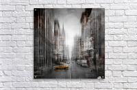 City-Art NYC 5th Avenue  Acrylic Print