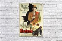 Film Noir Poster - Dragnet  Acrylic Print