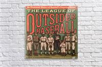 League of Outsider Baseball  Acrylic Print