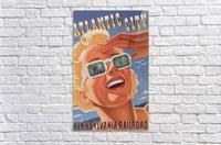 Atlantic City Pennsylvania Railroad Original Poster  Acrylic Print