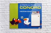 Original Appliance Poster, Conord Birds, 1960  Acrylic Print