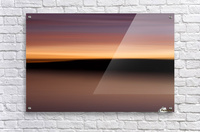 Sunset Motion  Acrylic Print