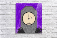 The Constant Bombardment Of Passing Time  Acrylic Print