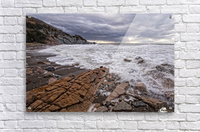 Surf at Pillar Rock  Acrylic Print