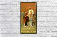 De Wolf Hopper in Happyland delighted poster in 1905  Acrylic Print