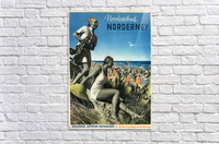 Nordseebad Norderney Germany Vintage Travel Poster 1939  Acrylic Print
