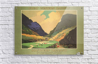 Southern Ireland Great Western Railway 1931 Vintage Travel Poster  Acrylic Print