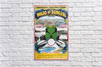 Irish Travel Art Poster, Wilds of Donegal, Ireland  Acrylic Print