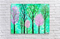 Spring Forest  Acrylic Print