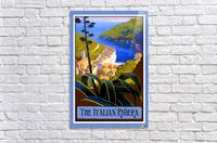 The Italian Riviera  Acrylic Print