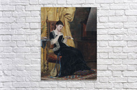 Junge Dame mit Brief  Acrylic Print