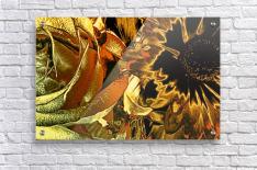 Just Golden  Acrylic Print