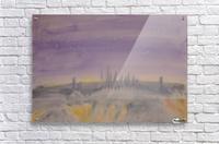 Night in the Danube Delta  Acrylic Print