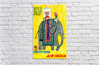 Air-India travel poster  Acrylic Print