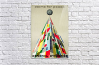 Atoms for Peace poster  Acrylic Print
