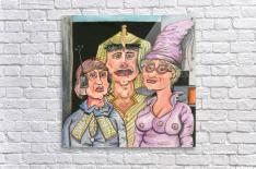 The Gluxx family  Acrylic Print