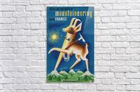 Mountaineering Choose France original vintage poster  Acrylic Print
