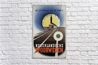 Nederlandse Spoorwegen Poster  Acrylic Print
