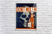 Dont mixem vintage poster  Acrylic Print