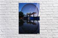 Reflections on Buckminster  Acrylic Print