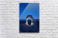 Delicate Arch Night  Acrylic Print