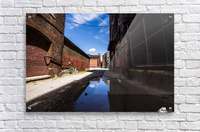 Alley Reflections  Acrylic Print