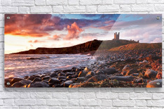 Dunstanburgh Castle, Northumberland, UK  Acrylic Print