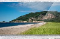Petit Etang Beach Memories  Acrylic Print