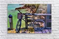 beach  bike   Acrylic Print