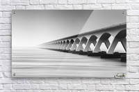 The Endless Bridge  Acrylic Print