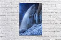 Frozen in the moonlight  Acrylic Print