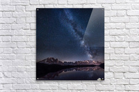 Lost in the stars  Acrylic Print