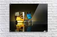 Butterfly Drink  Acrylic Print