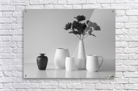 Still Life in Black and White  Acrylic Print