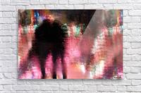 Rain above the funfair  Acrylic Print