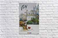 Italy Travel Poster by SAS  Acrylic Print