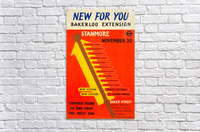 Poster Promoting the Bakerloo Line Extension to Stanmore, 1939  Acrylic Print