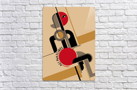 Bauhaus Nude  Acrylic Print